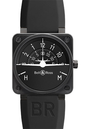 Bell & Ross Watches - BR 01-92 Automatic Turn Coordinator - Style No: BR0192-TURNCOOR