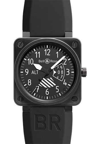 Bell & Ross Watches - BR 01-96 Automatic Big Date Altimeter - Style No: BR 01-96 Altimeter