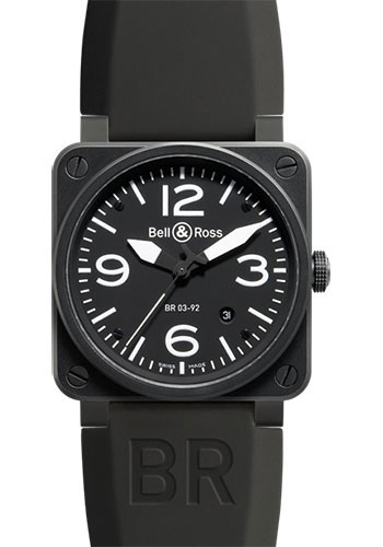 Bell & Ross Watches - BR 03-92 Automatic Carbon - Style No: BR 03-92 Carbon