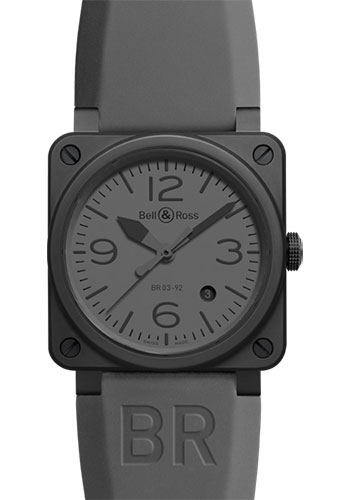 Bell & Ross Watches - BR 03-92 Automatic Commando Ceramic - Style No: BR 03-92 Commando Ceramic