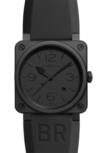 Bell & Ross Watches - BR 03-92 Automatic Phantom - Style No: BR 03-92 Phantom Ceramic