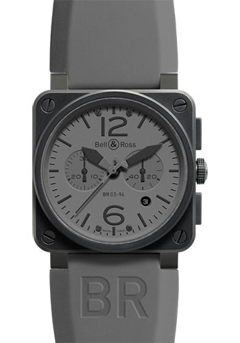 Bell & Ross Watches - BR 03-94 Chronograph Commando - Style No: BR 03-94 Commando