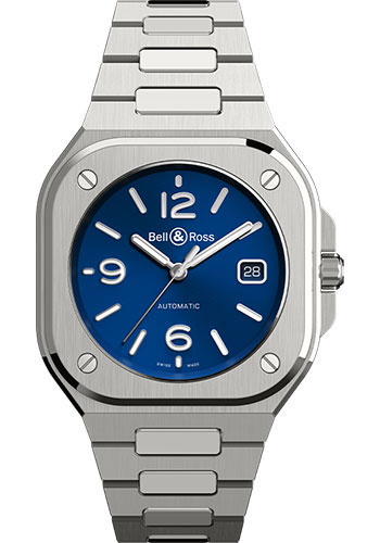 Bell & Ross Watches - BR 05 Blue Steel - Style No: BR05A-BLU-ST/SST