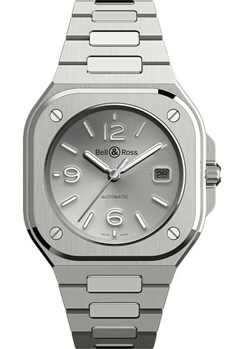 Bell & Ross Watches - BR 05 Grey Steel - Style No: BR05A-GR-ST/SST