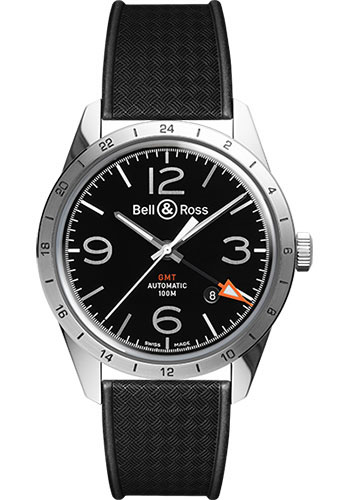 Bell & Ross Watches - Vintage BR 123 Automatic GMT 24H - Style No: BRV 123 GMT 24H