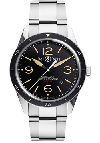 Bell & Ross Watches - Vintage BR 123 Automatic Sport Heritage - Style No: BRV 123 Sport Heritage Stainless Steel Bracelet