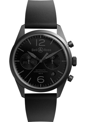 Bell & Ross Watches - Vintage BR 126 Chronograph Phantom - Style No: BRV 126 Phantom