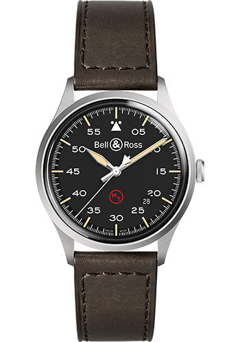 Bell & Ross Watches - BR V1-92 Military - Style No: BRV192-MIL-ST/SCA