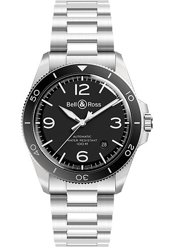 Bell & Ross Watches - BR V2-92 Steel - Style No: BRV292-BL-ST/SST