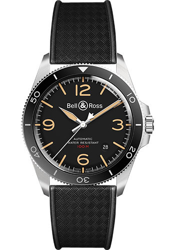 Bell & Ross Watches - BR V2-92 Steel Heritage - Style No: BRV292-HER-ST/SRB