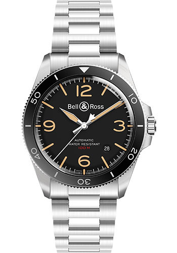 Bell & Ross Watches - BR V2-92 Steel Heritage - Style No: BRV292-HER-ST/SST