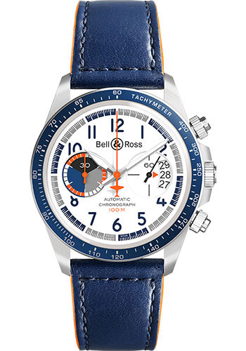 Bell & Ross Watches - BR V2-94 Racing Bird - Style No: BRV294-BB-ST/SCA