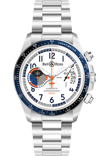 Bell & Ross Watches - BR V2-94 Racing Bird - Style No: BRV294-BB-ST/SST
