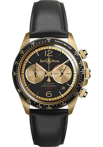 Bell & Ross Watches - BR V2-94 Bellytanker - Style No: BRV294-BC-BR/SCA