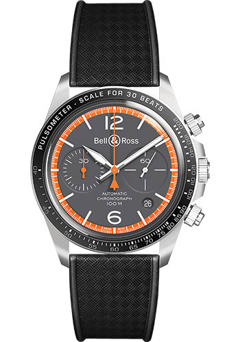 Bell & Ross Watches - BR V2-94 Garde-Cotes - Style No: BRV294-ORA-ST/SRB