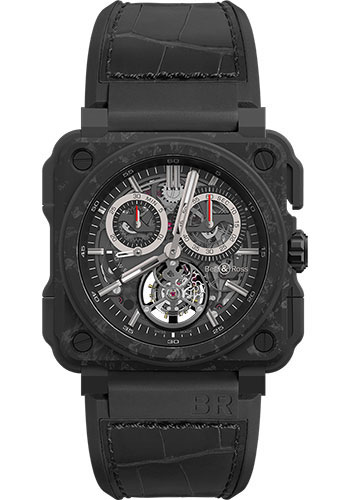 Bell & Ross Watches - BR-X1 Tourbillon Carbone Forge - Style No: BRX1-CHTB-CE-CF