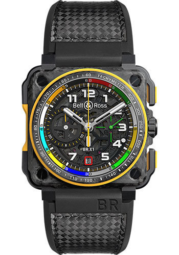 Bell & Ross Watches - BR-X1 Chronograph Renault Sport - Style No: BRX1-RS17
