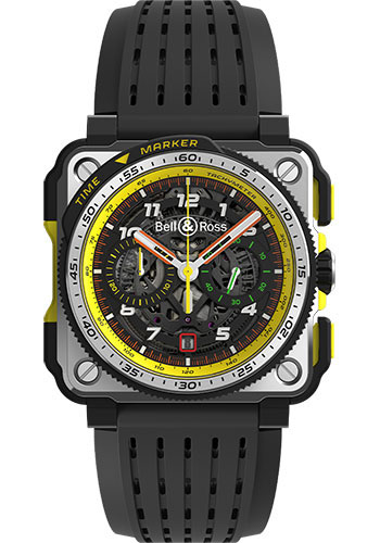 Bell & Ross Watches - BR-X1 Chronograph R.S.19 - Style No: BRX1-RS19/SRB