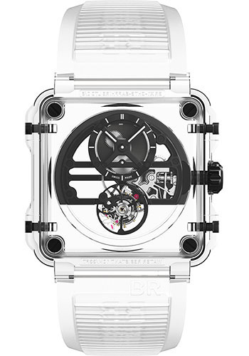 Bell & Ross Watches - BR-X1 Tourbillon Skeleton Tourbillon Sapphire Black - Style No: BRX1-SKTB-SABLK