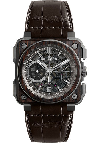 Bell & Ross Watches - BR-X1 Chronograph Wood - Style No: BRX1-WD-TI