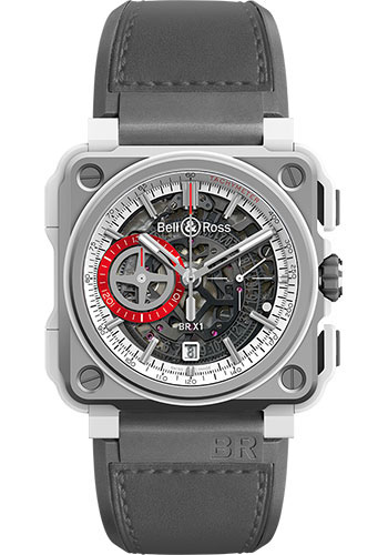 Bell & Ross Watches - BR-X1 Skeleton Chronograph White Hawk - Style No: BRX1-WHC-TI