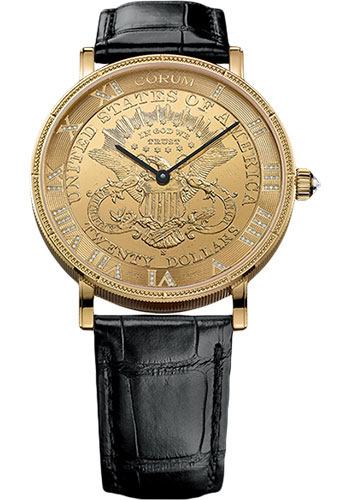 Corum Watches - Coin 43 mm - Style No: C082/03414