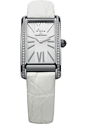 Maurice Lacroix Watches - Fiaba Stainless Steel With Diamonds - Style No: FA2164-SD531-114