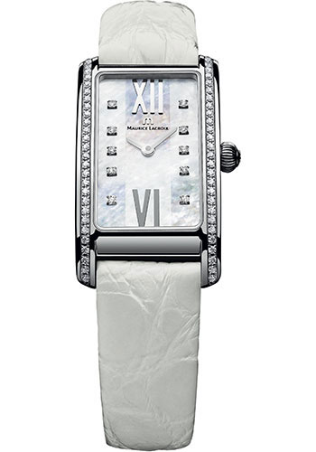 Maurice Lacroix Watches - Fiaba Stainless Steel With Diamonds - Style No: FA2164-SD531-170