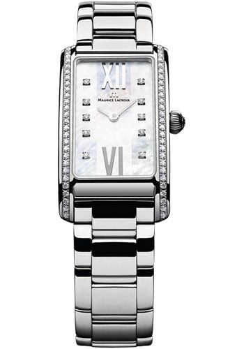 Maurice Lacroix Watches - Fiaba Stainless Steel With Diamonds - Style No: FA2164-SD532-170
