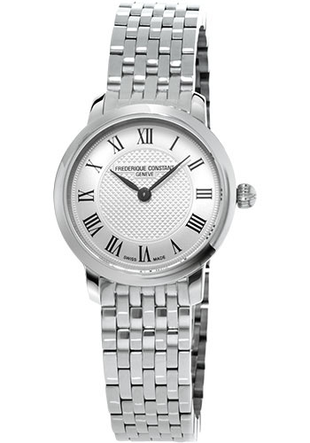 Frederique Constant Watches - Classics Slimline Mini Stainless Steel - Style No: FC-200MCS6B