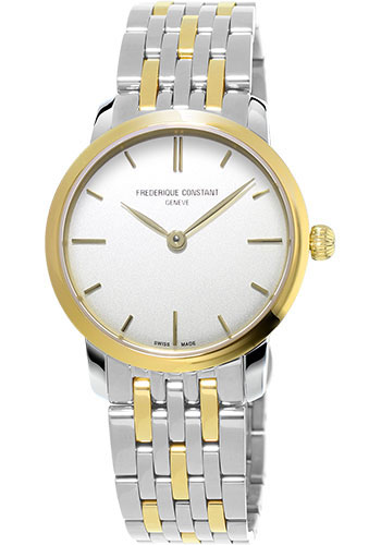 Frederique Constant Watches - Slimline Mid Size - Style No: FC-200S1S33B3