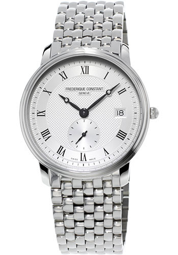 Frederique Constant Watches - Classics Slimline Gents Stainless Steel - Style No: FC-245M4S6B