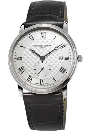 Frederique Constant Watches - Classics Slimline Gents Stainless Steel - Style No: FC-245M5S6