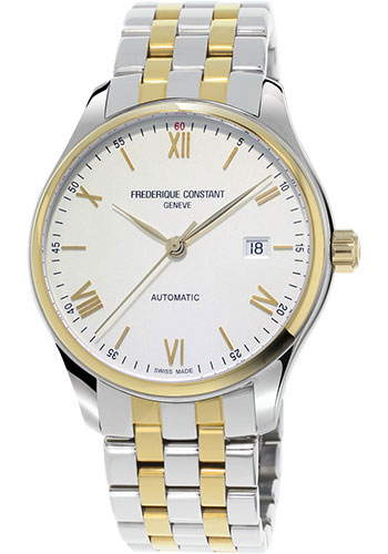 Frederique Constant Watches - Classics Index 40mm - Yellow Gold Plated - Style No: FC-303WN5B3B