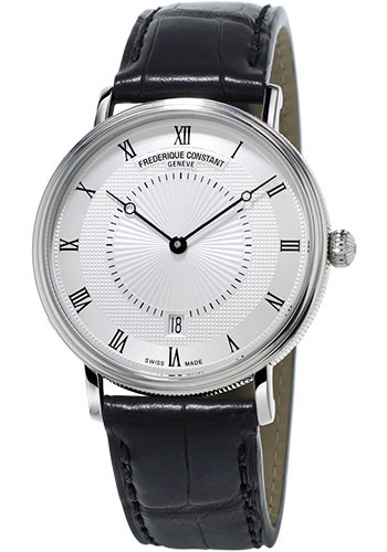 Frederique Constant Watches - Classics Slimline Automatic Stainless Steel - Style No: FC-306MC4S36