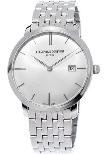 Frederique Constant Watches - Classics Slimline Automatic Stainless Steel - Style No: FC-306S4S6B2