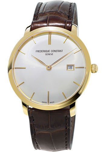 Frederique Constant Classics Slimline Auto (YG Plated) Watches