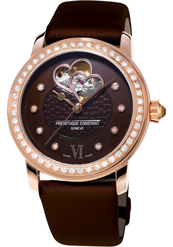 Frederique Constant Watches - Ladies Automatic Double Heart Beat - Style No: FC-310CDHB2PD4