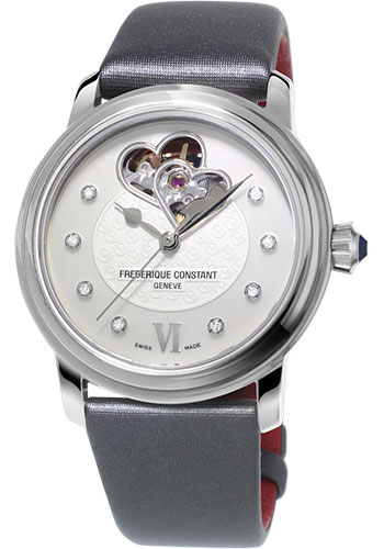 Frederique Constant Watches - Ladies Automatic World Heart Federation Stainless Steel - Style No: FC-310WHF2P6