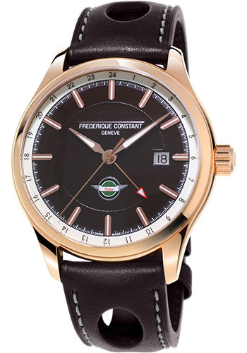 Frederique Constant Watches - Vintage Rally Healey GMT Rose Gold Plated - Style No: FC-350CH5B4