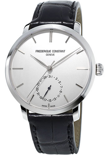 Frederique Constant Watches - Manufacture Slimline Stainless Steel - Style No: FC-710S4S6
