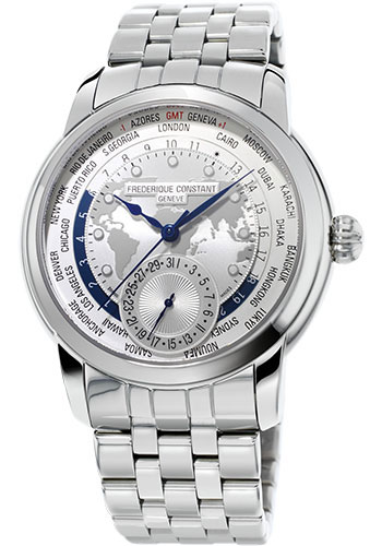 Frederique Constant Watches - Manufacture Worldtimer - Style No: FC-718MC4H6B