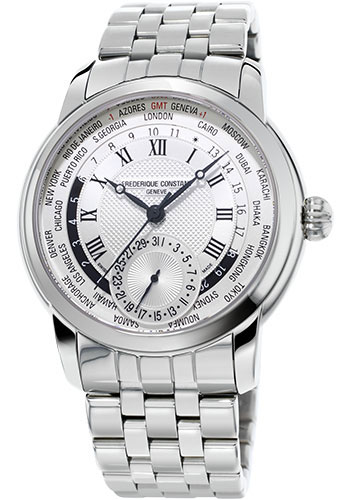 Frederique Constant Watches - Manufacture Worldtimer - Style No: FC-718WM4H6B