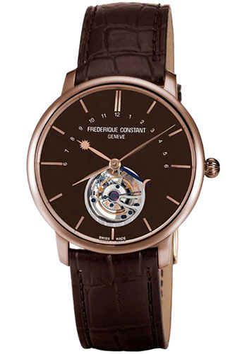 Frederique Constant Watches - Manufacture Tourbillon Rose Gold - Style No: FC-980C4S9