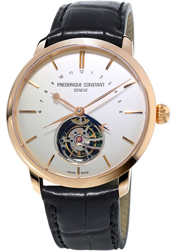 Frederique Constant Watches - Manufacture Tourbillon Rose Gold - Style No: FC-980V4S9
