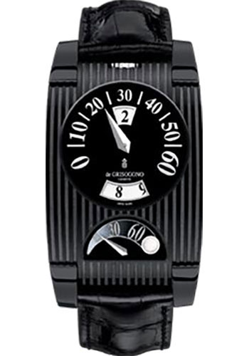 de Grisogono Watches - FG One Blackened Stainless Steel - Style No: FG ONE N03