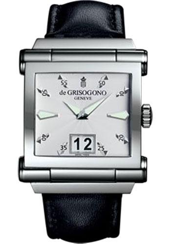 de Grisogono Watches - Grande Stainless Steel - Style No: GRANDE N01