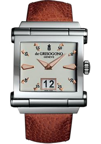de Grisogono Watches - Grande Stainless Steel - Style No: GRANDE N02