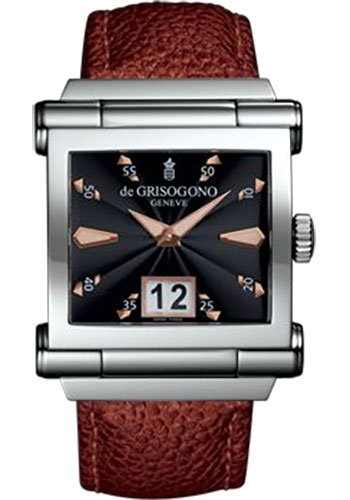 de Grisogono Watches - Grande Stainless Steel - Style No: GRANDE N03