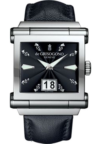 de Grisogono Watches - Grande Stainless Steel - Style No: GRANDE N04